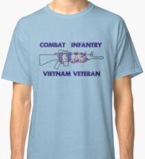 11Bravo - Combat Infantry - Vietnam Veteran Classic T-Shirt