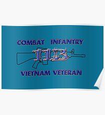 11Bravo - Combat Infantry - Vietnam Veteran Poster