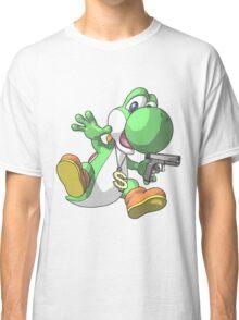 Gangster Yoshi Classic T-Shirt
