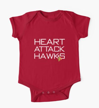 Heart Attack Hawks Kids Clothes