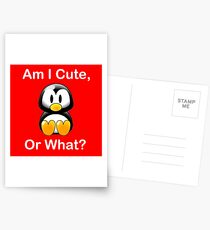 Am I Cute, Or What? Postcards