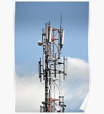 communication tower Poster