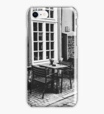 Black and White Cafe iPhone Case/Skin