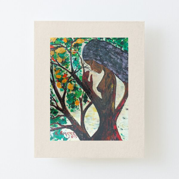 The Nature's Prayer Canvas Mounted Print
