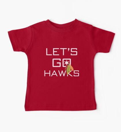 Let's Go Hawks Kids Clothes