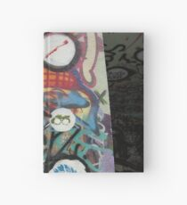 very colourful graffiti icons Hardcover Journal