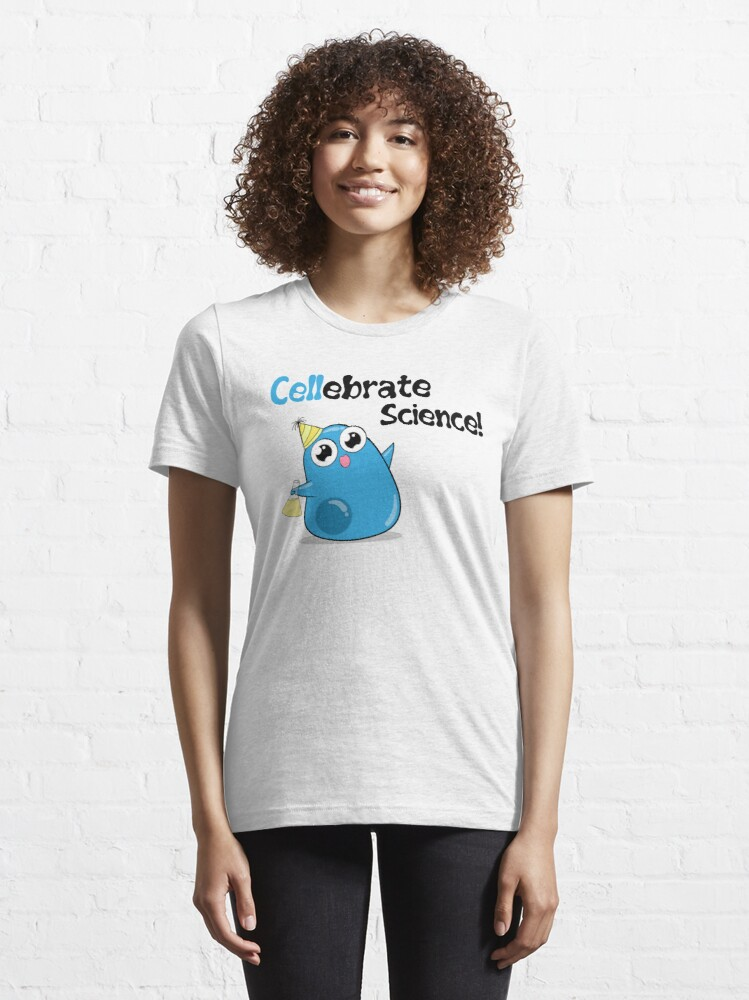 Alternate view of Cellebrate Science! Essential T-Shirt