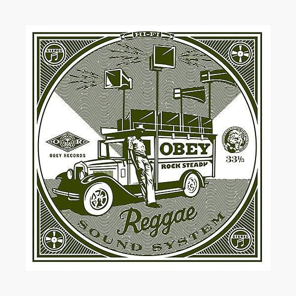 Reggae Sound System Photographic Print