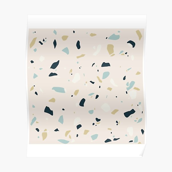 Uneven Pattern Poster