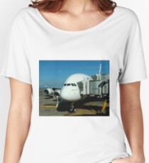 Emirates Airbus A380 Women's Relaxed Fit T-Shirt