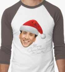 Merry Christmas from St Nic-olas Cage T-Shirt