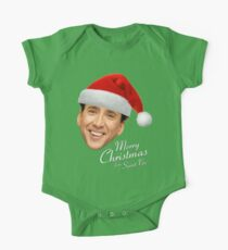 Merry Christmas from St Nic-olas Cage Kids Clothes