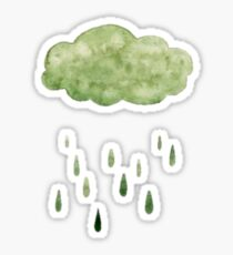 Acid Rain  Sticker