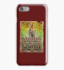 Maria Mercurial 2050 Concert Poster iPhone Case/Skin