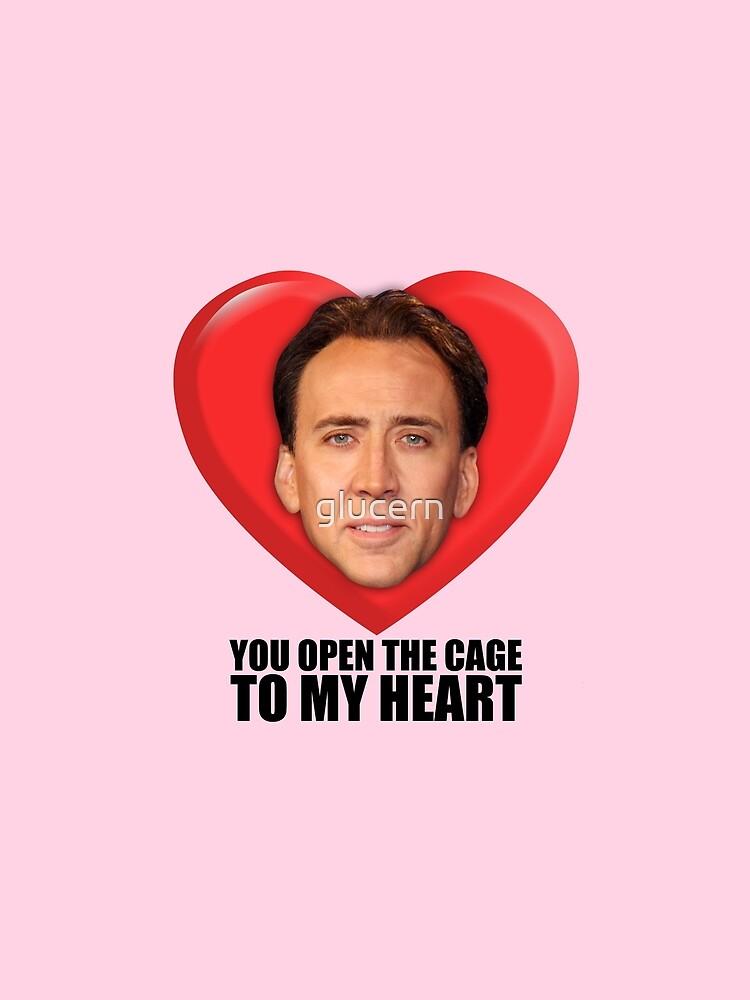 Nicolas Cage - Du öffnest den Käfig zu meinem Herzen von glucern