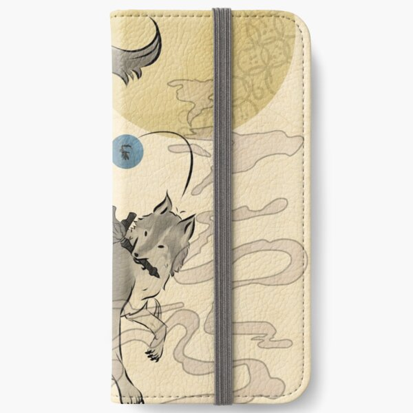 The Great Grey Wolf - Sifkami iPhone Wallet