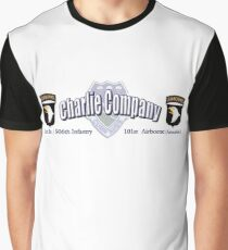 Currahee - Charlie Company - 1st Bn / 506th Infantry  -  101st Airborne (Airmobile) Graphic T-Shirt