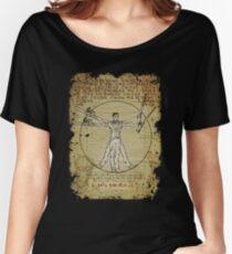 The Ash-Truvian Man Women's Relaxed Fit T-Shirt