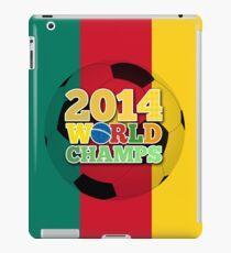 2014 World Champs Ball - Cameroon iPad Case/Skin