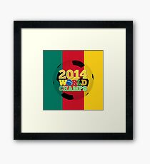 2014 World Champs Ball - Cameroon Framed Print