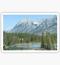 Banff National Park Sticker