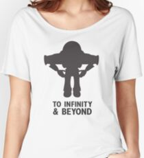 Buzz Lightyear: To Infinity & Beyond - Black Women's Relaxed Fit T-Shirt