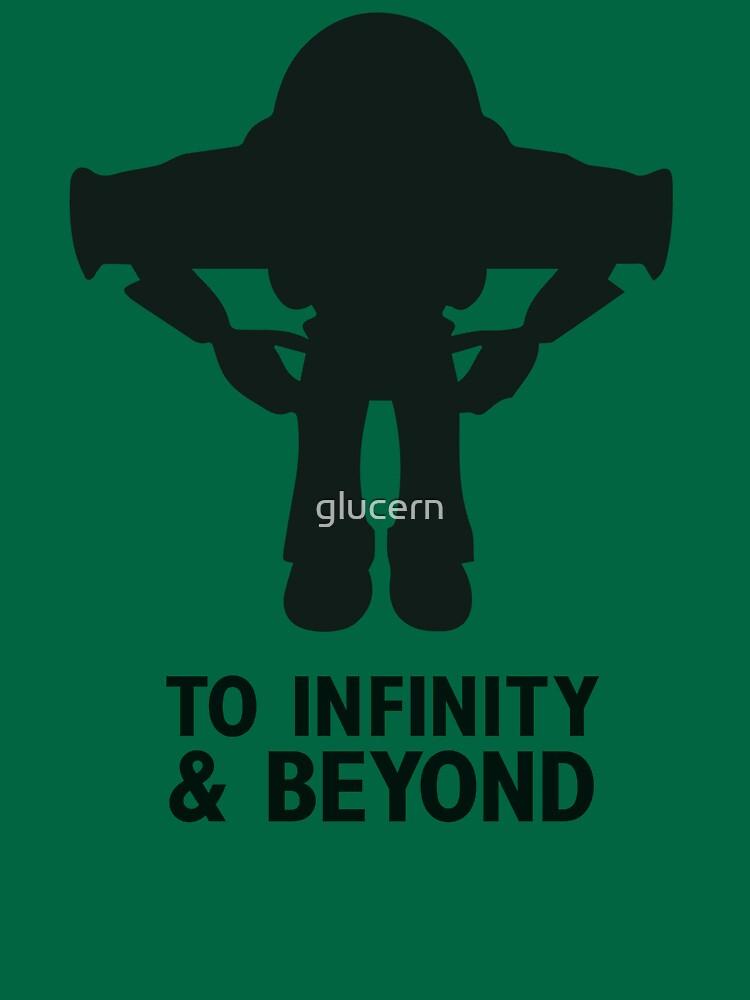 4fef49d7b7 TShirtGifter presents: Buzz Lightyear: To Infinity & Beyond - Black |  Unisex T-