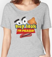 Hey Look I'm Picasso Toy Story Women's Relaxed Fit T-Shirt