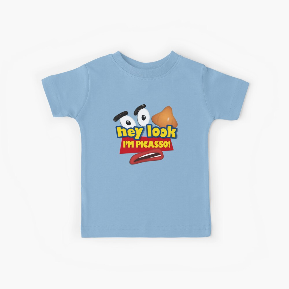 Hey Look I'm Picasso Toy Story Kids T-Shirt