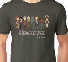 Dragon Age Origins Party Unisex T-Shirt