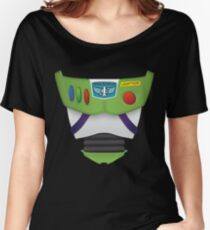 Buzz Lightyear Chest - Toy Story Women's Relaxed Fit T-Shirt