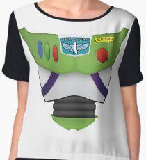 Buzz Lightyear Chest - Toy Story Women's Chiffon Top