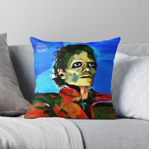 Totally Thrilled - Retro Throw Pillow