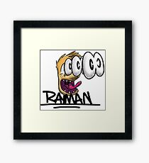 Rayman Scare Framed Print