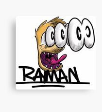Rayman Scare Canvas Print
