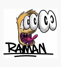 Rayman Scare Photographic Print