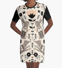 Woodland Folklore  Graphic T-Shirt Dress
