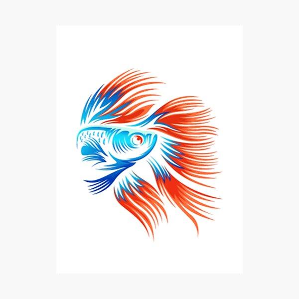 Fish Classic T-Shirt Photographic Print