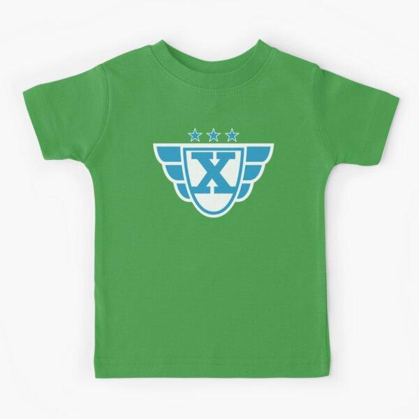 Superhero Letter X. Stars and Wings Kids T-Shirt