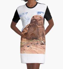 Rainbow Bridge Monument Park Graphic T-Shirt Dress