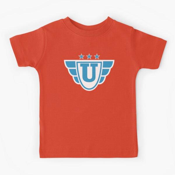 Superhero Letter U. Stars and Wings Kids T-Shirt