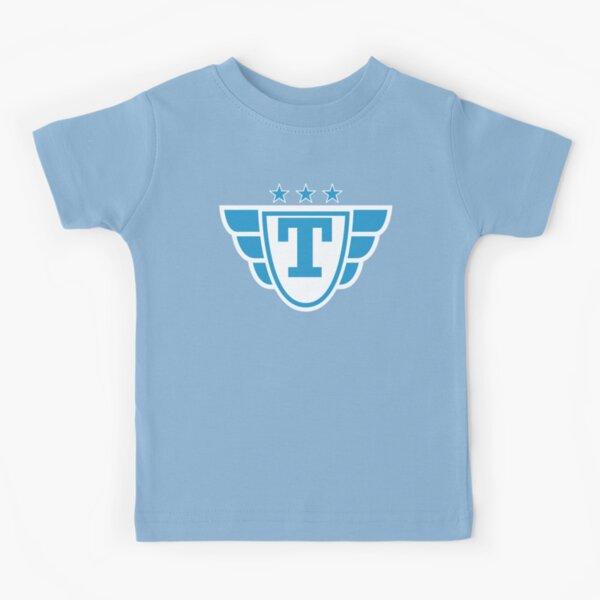 Superhero Letter T. Stars and Wings Kids T-Shirt