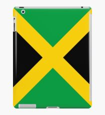 Jamaican Flag Black Gold & Green iPad Case/Skin