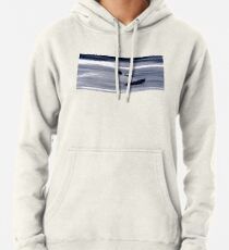 Kitesurfing - Riding the Waves in a Blur of Speed Pullover Hoodie