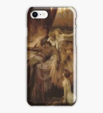 Herbert Draper - The Lament For Icarus 1898. Fairy painting: icarus, mermaids, nude, nudity , temptation , dawn, star, angels, angelic , torso, love  iPhone Case/Skin