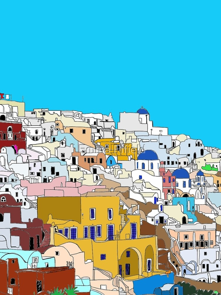 Santorini in Colour by emmafifield