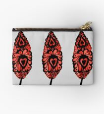 Heart Feather Studio Pouch