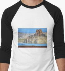 Lake Powell in Arizona, USA Men's Baseball ¾ T-Shirt