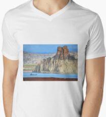 Lake Powell in Arizona, USA Men's V-Neck T-Shirt
