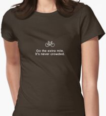 Go the Extra Mile Women's Fitted T-Shirt